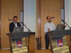Dr. Nikoloas Mavridis and Dr. Ravinder S. Dahiya